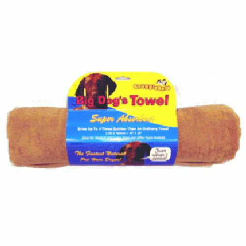 BIG DOGS MICROFIBRE TOWEL 140 X 76CM ON HANG UP CARD