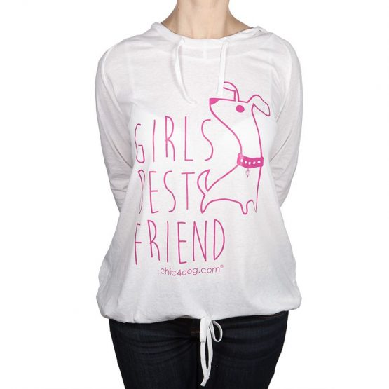 BEST FRIEND SWEATSHIRT WHITE