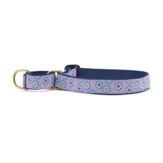 FLOWER FIELD MARTINGALE COLLAR