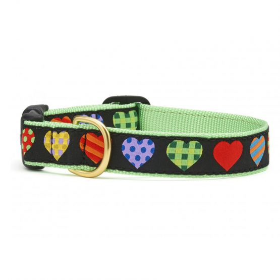 Collare Colorful Hearts
